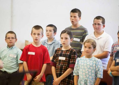 Children's Choir Rehearsal