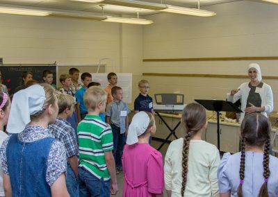 Rehearsal in Classroom