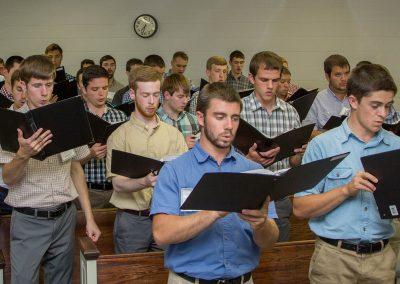 Mass Choir Rehearsal
