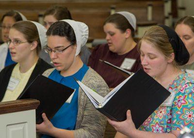 Chamber Choir Rehearsal